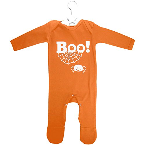 Kids Wholesale Clothing BOO! Strampelanzug orange - Halloween Kostüm Baby