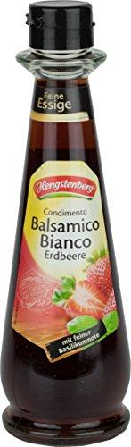 Condimento Balsamico Bianco Erdbeere 250 ml Flasche