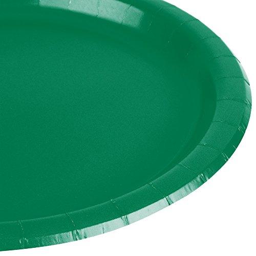 Imagen 2 de Amscan Internacionales Placas 17.7cm (verde festivo)