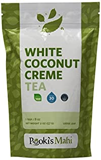 Pooki's Mahi White Coconut Creme Tea, 2 Ounce