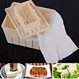 Tradico® TradicoBrand New Tofu Maker Kitchen DIY Cloth Press Mold Cheese Soy Pressing Mould Kit US