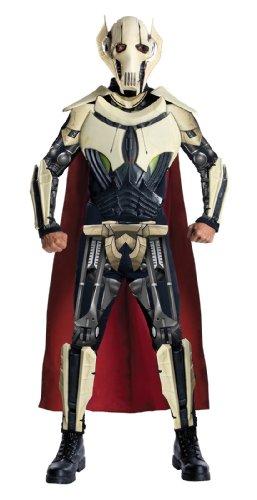 Grievous Star Deluxe Kostüm General Wars - Rubie's Deluxe Kostüm Adult General Grievous