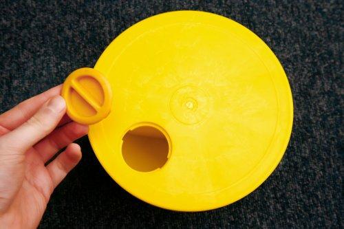 Agility Hundesport – X-Standfuß, gelb und Ring / Reifen Ø 60 cm, grün - 3