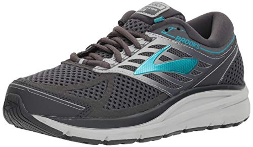 Brooks Addiction 8 Schuhe (Brooks Women's Addiction 13 Ebony/Silver/Pagoda Blue 8 B US)