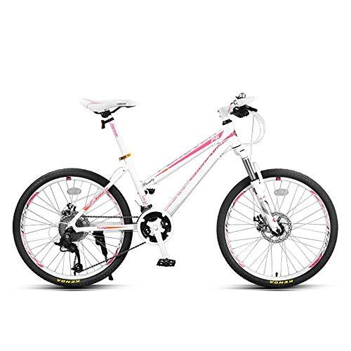 Huoduoduo Fahrrad, Mountainbike, 24 Zoll 27 Speed Doppelscheibenbremse Aluminium-leichtmetallrad High-end-geländewagen, Geeignet für Outdoor-Reisen Alpinismus