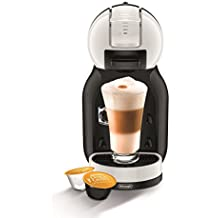 Nescafe EDG305.WB Dolce Gusto Mini Me Coffee Capsule Machine by DeLonghi - Black and White (Renewed)