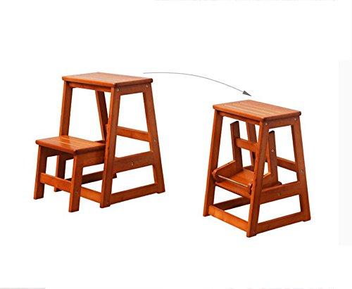 Scala a due gradini in legno xin stool sgabello in legno massello