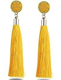 479a41be11072f Yellow Women's Earrings: Buy Yellow Women's Earrings online at best ...