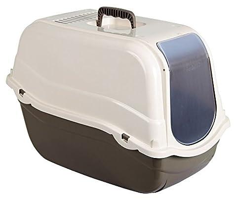 Kerbl Litter Box Minka, 57 x 39 x 41 cm, Taupe/ Cream