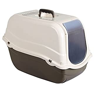 Kerbl Litter Box Minka, 57 x 39 x 41 cm, Taupe/Cream 7