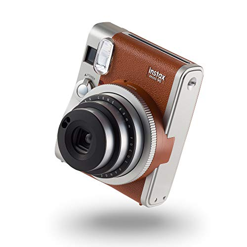 instax Mini 90 NEO Classic Camera with 10 Shots, Brown