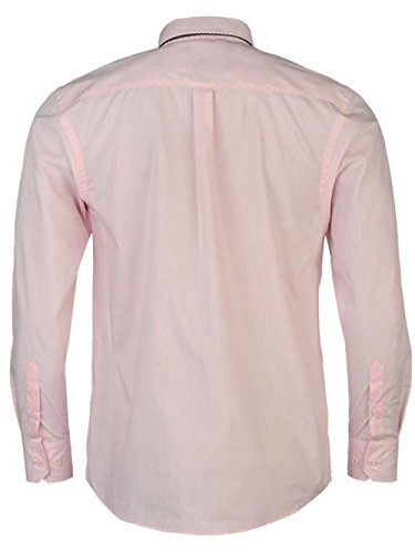 Pierre Cardin - Chemise casual - Homme Pink/Navy Plain