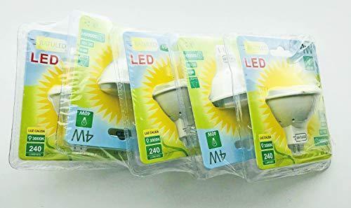 Batuled - Pack 5 dicroicas LED MR-16 4W 3000K