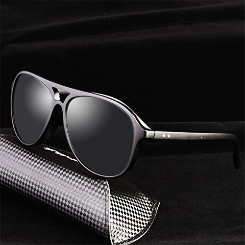 LKVNHP New Hohe Qualität Übergroße Sonnenbrille Männer Polarisierte 150Mm Gespiegelte Polaroid Sonnenbrille Für Mann Luftfahrt Antireflexion Uv400Schwarz