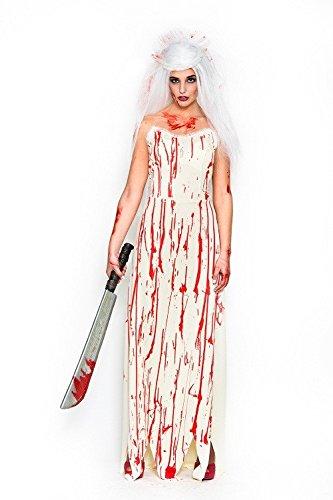 Kostüm Bloody Braut Kinder - Fyasa 706403-t04Bloody Braut Kostüm, groß