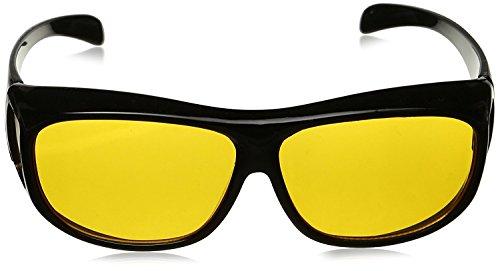 Sonnenbrille mit dem Seitenschutz und der Nachtsicht von Honeysuck