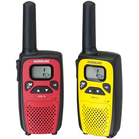 Audioline PMR 16 Ricetrasmittente incluso Clip per Cintura, Istruzioni