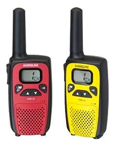 Audioline PMR 16 Funkgeräte (Gürtelclips, Bedienungsanleitung)