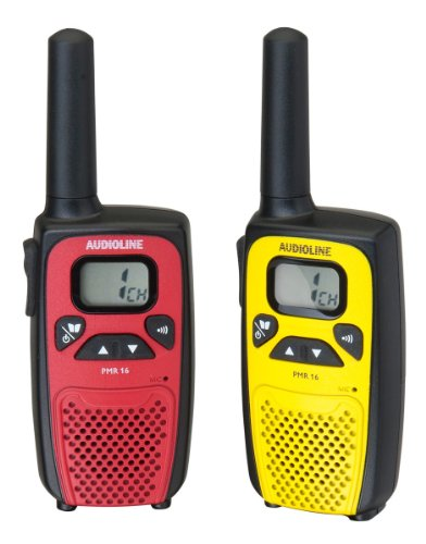 Audioline Walkie-talkie PMR 16  im Test