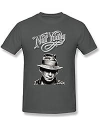 Joy Nicole Men'S Neil Young T-Shirt XXXXL