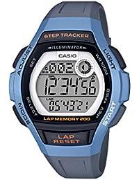 CASIO Reloj Digital para Mujer de Cuarzo con Correa en Resina LWS-2000H-2AVEF