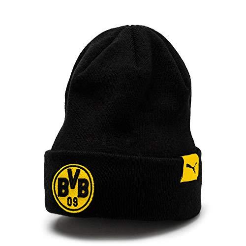 PUMA BVB Bronx Mütze, Cyber Yellow Black, OSFA