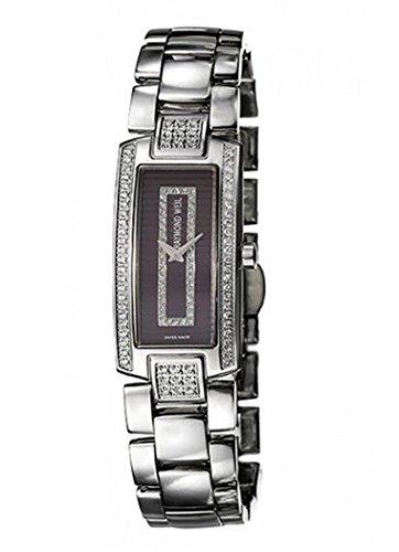 Raymond Weil 1500-ST2-70381 - Reloj de pulsera mujer, piel, color plateado