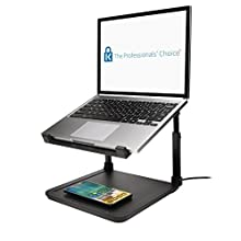 Kensington K52784WW SmartFit Laptop Riser with Wireless Phone Qi Charg