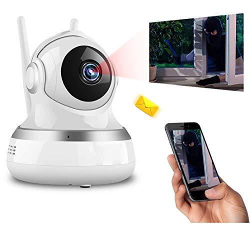Huiiv Drahtlose intelligente Baby-Audio-Überwachungskamera IP-Netzwerk-Kamera Wi-Fi-Kamera HD 1080p - Baby-video-monitor-sommer