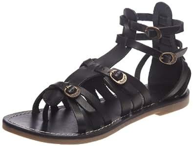 kickers divas sandales femme noir 36 eu chaussures et sacs. Black Bedroom Furniture Sets. Home Design Ideas