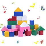 Beby 42pcs Baby's First Sound Building Blocks Kids Toddlers Learning Activity Toys