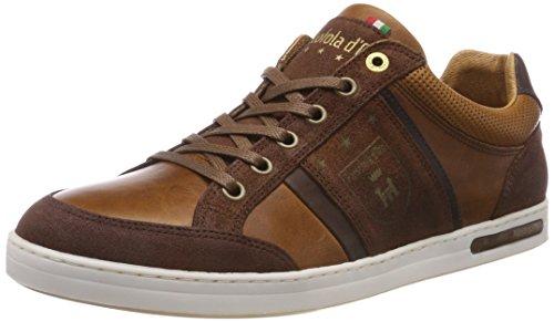Pantofola d'Oro Herren MONDOVI Uomo Low Sneaker, Braun (Tortoise Shell .Jcu), 46 EU
