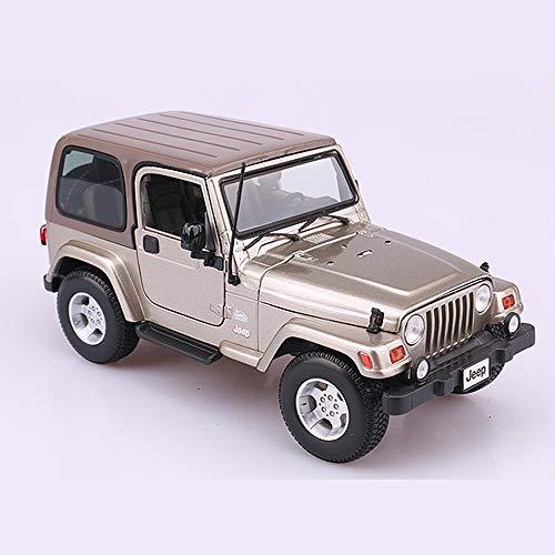 Pandady Jeep 1:18 Auto Modell Dekoration Sammlung Off-Road Simulation Legierung Auto Modell Dekoration Kinder Geburtstagsgeschenk,B