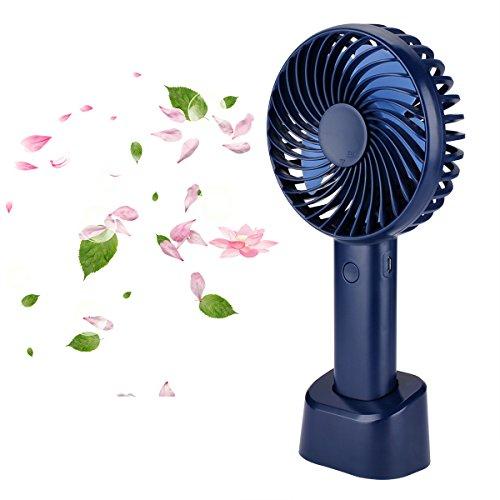 Ventilador Portatil Metalico de Sobremesa mini Potente│ MP3686 │ 15.24 Centimetros│ 20W ★★★★★
