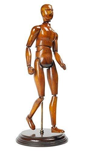 Artista modello di un uomo renaissance modello, storici denti statuetta
