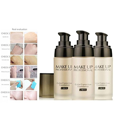 JaneDream Basic Makeup Care Cosmetic Concealer Liquid Foundation BB Cream Natural White