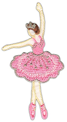 Preisvergleich Produktbild Tänzerin Ballerina Aufnäher Bügelbild