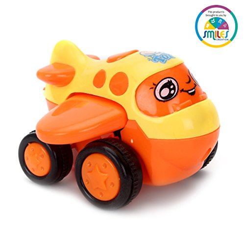smiles creation Push And Go Friction mini plane(orange)