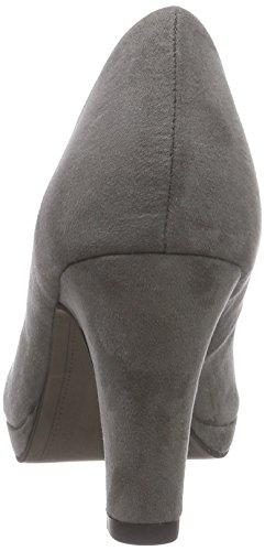 Tamaris22420 - Scarpe con tacco chiuse donna Grigio (Grigio (grafite 206))