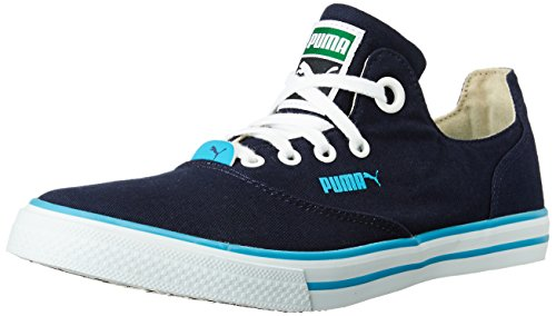 Puma Unisex Limnos Cat 3 IDP H2T Peacoat and Hawaiian Ocean Sneakers - 4 UK/India (37 EU)  available at amazon for Rs.1399