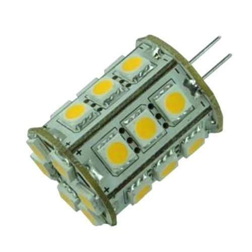 HQRP G4 Leuchtmittel 360° 24 LEDs, SMD 5050 LED 12 V AC/DC 3 W 360 lm für Camper RV Anhänger Schiff Meer -