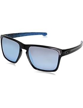 Oakley 934112, Gafas de Sol para Hombre, Polished Black, 57