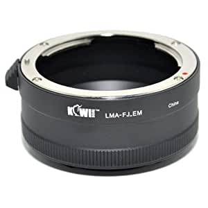 Kiwifotos adaptateur de monture d'objectif pour X-Fujinon d'objectif sur Sony NEX-3, NEX-C3, NEX-F3, NEX-5, NEX-5N, NEX-5R, NEX-6, NEX-7