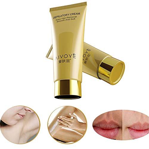 Enthaarungscreme, Cocohot Körper Enthaarungscreme Schnelle Haarentfernung für Body Leg Achselhöhle (A)