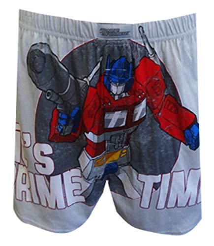 Preisvergleich Produktbild Transformers Optimus Prime Time Grey Boxershorts f¡§r Herren (Klein)
