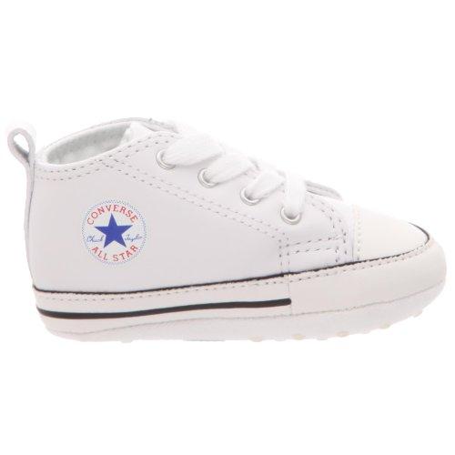 CONVERSE First Star Cuir Blanc Blanc