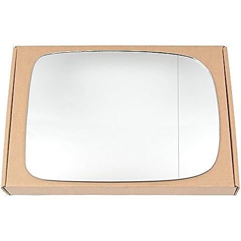 Amplia ángulo derecho lado del conductor ala de plata espejo de cristal para Dodge Ram 2009–2013