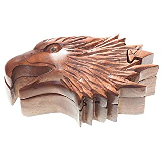 Windalf Arcan Gift Box 17 cm Eagle Handmade Wooden Jewellery Box