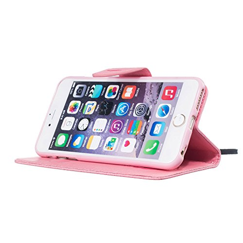 Per Apple iPhone 5 5G 5S / iPhone SE (4 Pollici) Custodia ZeWoo® Custodie in PU Pelle Case Cover - BF061 / Piuma nera BF065 / Piuma dentellare