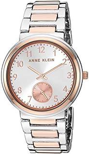 Anne Klein Women's Easy to Read Two-Tone Bracelet W
